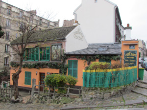 Au Lapin Agile as it looks today.