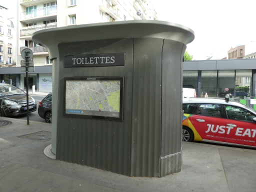 A street toilette.